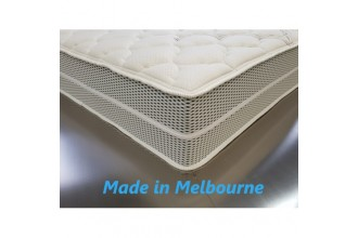 Bamboo by Nature Double Pocket Spring Mattress - with Zipper - 5 Comfort Options - 15 Year Warranty - Australian Made - *Free Delivery
