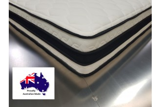 Cloud 9 Queen Pocket Spring Pillow Top Mattress - 7 Year Warranty - Australian Made - *Free Delivery