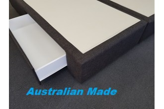 Jubilee 2 Drawer King Split Mattress Base -10 Year Warranty - Australian Made - *Free Delivery