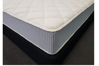 Cotton By Nature - Latex 100% Natural - Double Pocket Spring Mattress - 10 Year Warranty - Australian Made - *Free Delivery