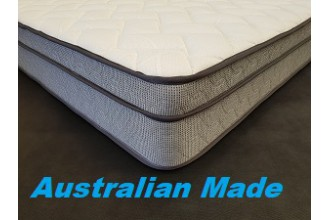Physio Choice King Euro Pillow Top Mattress - with Zipper - 3 Comfort Options - 10 Year Warranty  - Australian Made - *Free Delivery