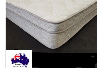 Chiro Health Single Mattress - Pillow Top - Australian Made - Free Delivery - 5 Year Warranty
