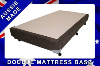 Metro Double Mattress Base - 10 Year Warranty -  Australian Made - *Free Delivery - 6 Colour Options