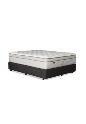 Wool By Nature Pocket Spring Pillow Top Queen Mattress - 10 Year Warranty - Australian Made - *Free Delivery