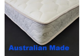 Back Rest Single innerspring Mattress - 3 Year Warranty - Australian Made  *Free Delivery