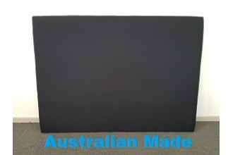 Sleek Single Bed Head Board - 10 Year Warranty - Black - Australian Made -*Free Delivery