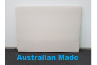 Sleek Single Bed Head Board - 10 Year Warranty - Cream - Australian Made -*Free Delivery