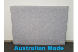 Sleek Single Bed Head Board - 10 Year Warranty - Grey - Australian Made -*Free Delivery