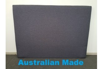 Sleek Single Bed Head Board - 10 Year Warranty - Charcoal - Australian Made -*Free Delivery
