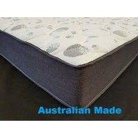 Posture Support Queen Pocket Spring Pillow Top Mattress - 3 Comfort Options - 7 Year Warranty - Australian Made - *Free Delivery