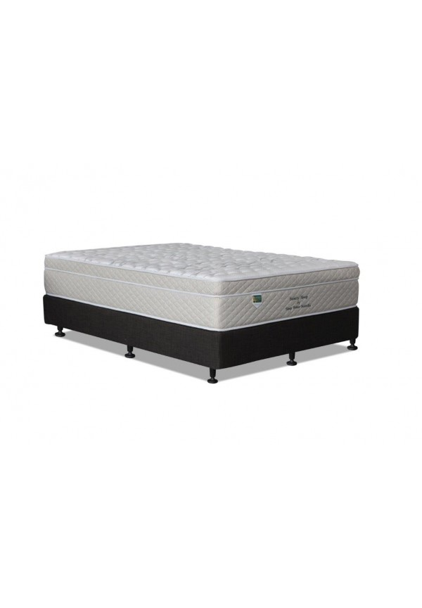 Beauty Sleep Queen Pocket Spring Pillow Top Mattress 3