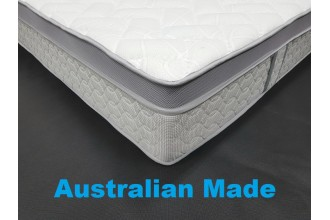 Osteo Care Pocket Spring Queen - 3 Comfort Options - 10 Year Warranty  - Australian made - * Free Delivery