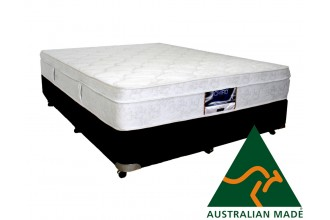 Posture Support Double 5 Zone Pocket Spring Pillow Top Mattress - 10 Year Warranty - Australian Made - *Free Delivery