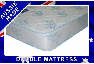 Budget Sleep Double innerspring Mattress - 12 Month Warranty - Australian Made - *Free Delivery