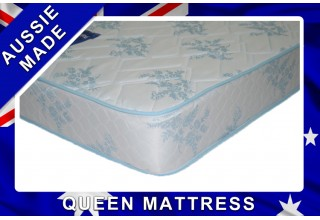 Budget Sleep Queen innerspring Mattress - 12 month Warranty - Australian Made - *Free Delivery