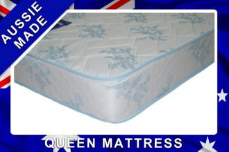 Fine Dreams Queen innerspring Mattress - 12 month Warranty - Australian Made - *Free Delivery