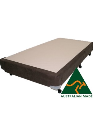 Metro Single Mattress Base 10 Year Warranty 188cm x 92cm Black - Cream - Charcoal - Australian Made *Free Delivery