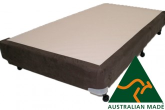Metro Queen Mattress Base 10 Year Warranty 2030mm x 1530mm x 350mm  Black - Cream - Charcoal - Australian Made - *Free Delivery