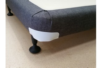 Super Slim Line 11cm Single Mattress Base 10 Year Warranty 188cm x 92cm Black - Cream - Charcoal - Australian Made - *Free Delivery